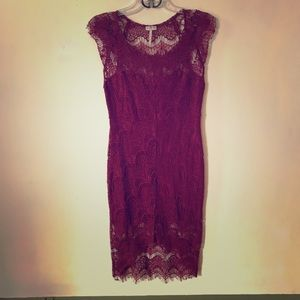 Free People Spanish Lace Bodycon Dress